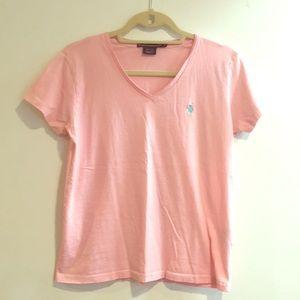 Ralph Lauren sport pink t shirt
